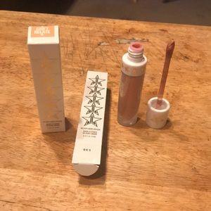 "Jeffree Star liquid lipstick shade ""Can't Relate"""